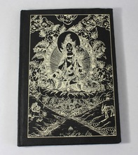lokta printed paper cover notebook
