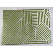 metallic zigzag stripes printed gift sheets