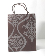 Recycled handmade cotton paper bag
