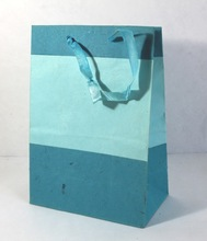 satin ribbon handle bag