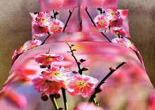 3D flowers Printed beding set