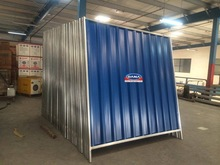 Project Site Fencing steel sheets