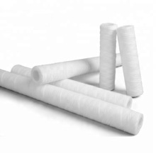 pp yarn string wound filter cartridge with o-ring caps