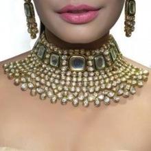 Artificial Kundan Bridal Jewellery Sets