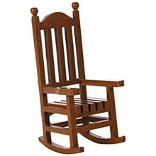 Hand Carved Wooden Garden Chair
