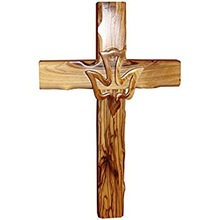 Handcarved Christian Wooden Cross