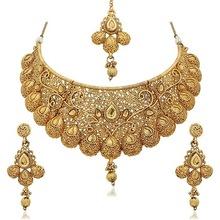 Kundan diamond jewelry set
