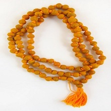 Turmeric Japa Prayer Beads Mala