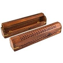 Wooden Designer Coffin Box Burners
