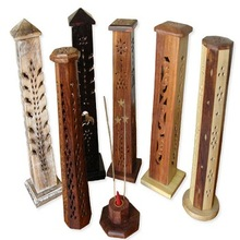 Wooden Incense Storage Burners