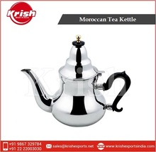 Moroccan Stainless Steel Tea Kettle
