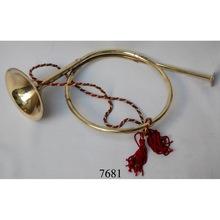 Decorative hunting brass bugle