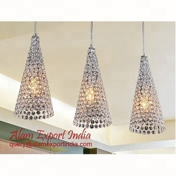 crystal pendent lamp