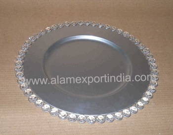 Diamond Charger Plate