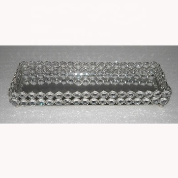 Tray crystal bead