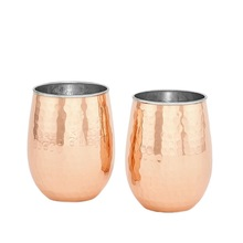 Barrel Copper Water Tumbler