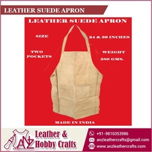 Leather Suede Apron