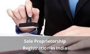 Registration of Sole Proprietorship Firm