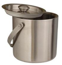 Double wall Metal Ice Bucket