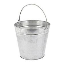 Heavy tin bucket