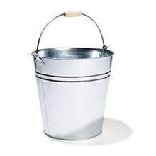 Metal Ribbed Champagne Pail bucket