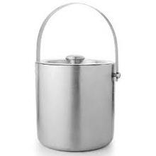 Stainless steel Custom metal ice bucket