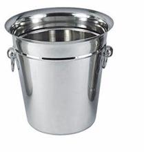 Stainless steel matt finish ice bucket