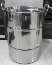 stainless steel mil can Drum