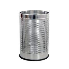 stainless steel round platformed dustbin
