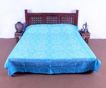 velvet embroidered bedspread
