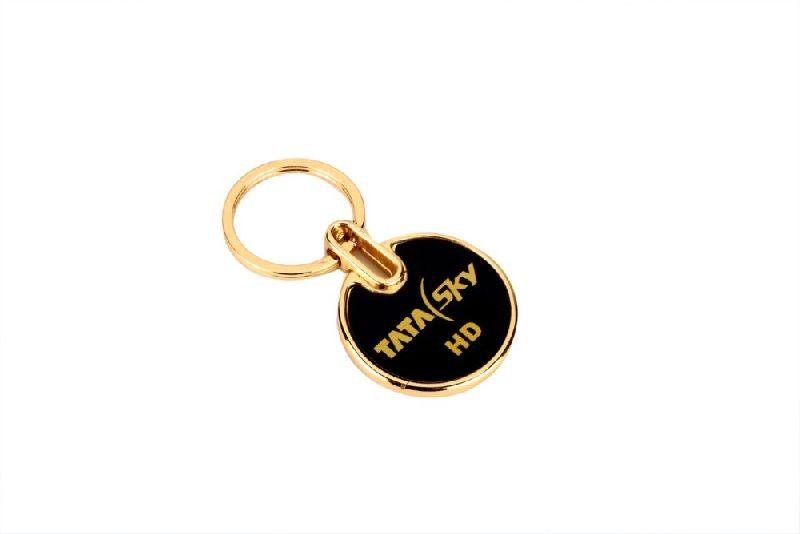 Metal key chain ring