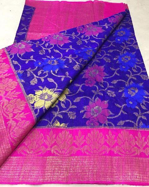 Banaras handloom pure chiniya Silk sarees