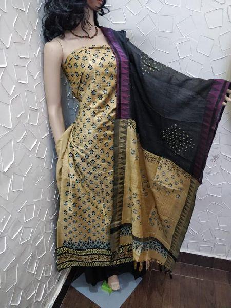 Katan cotton silk suits