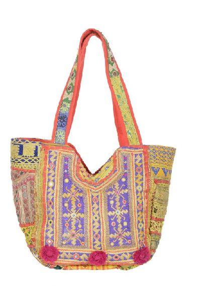 Ethnic Zari Bag Embroidered Handbag
