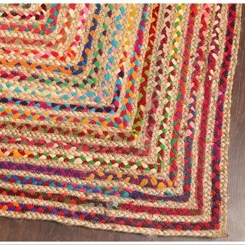 handmade braided jute rug Manufacturer