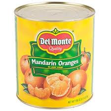 Canned Mandarin Orange Syrup