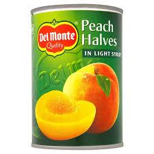 Canned Peach Halves Syrup