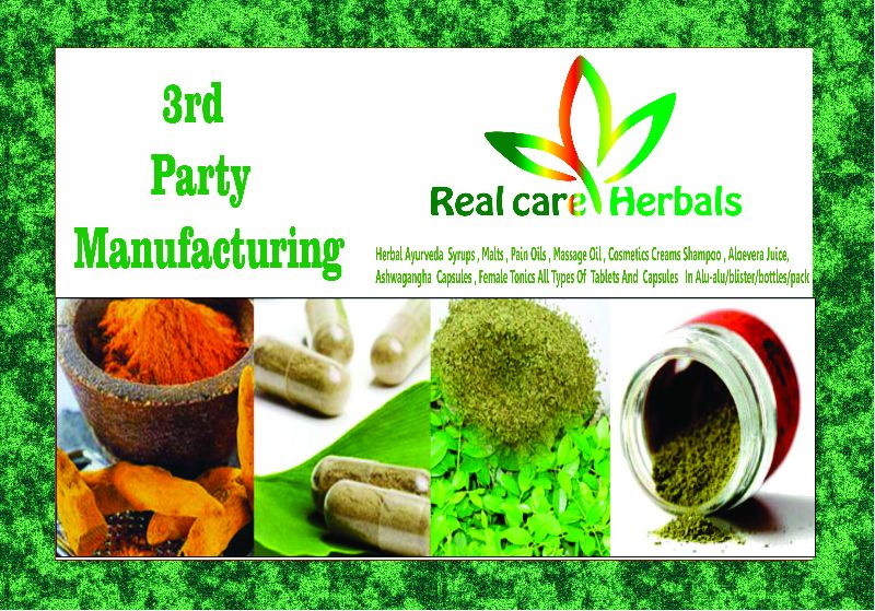 3rd Party Manufacturing  For Herbal & Ayuvedic Products