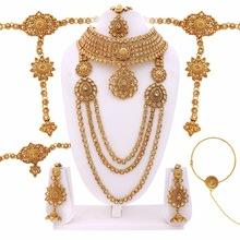 Gold Finished Bridal Dulhan Set Manufacturer in Jaipur