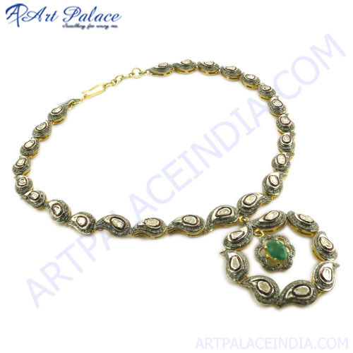 Buy Victorian jewelry Gold Plated Necklace from Art Palace