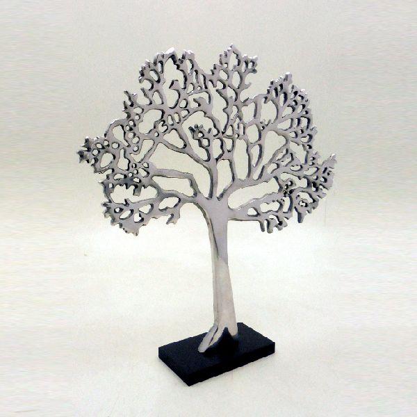 Aluminium MDF Table Top Decorative Tree
