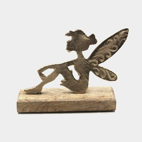 Aluminium Table Decoration Angel Sculptures