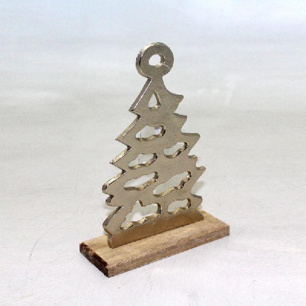 Brass Aluminium Antique X Mas Tree