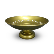 Brass Plated Round Iron Bowl