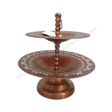 Copper Plated Antique Cake Stand