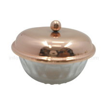 Copper Plated Glass Iron Bowls