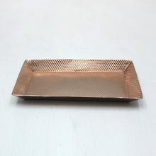 Copper Plating Decorative Metal Serving Trays