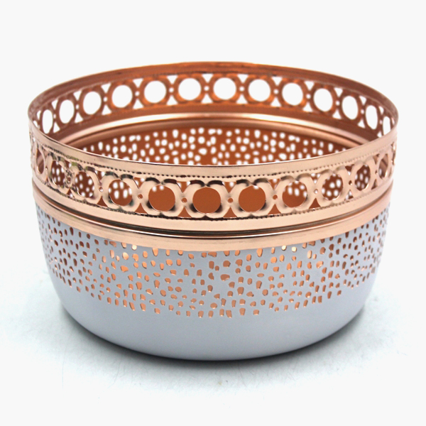 Copper Plating Round Iron Bowls