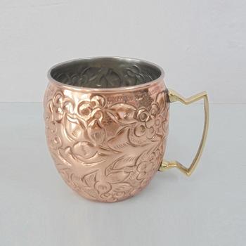 Decorative Copper Mugs