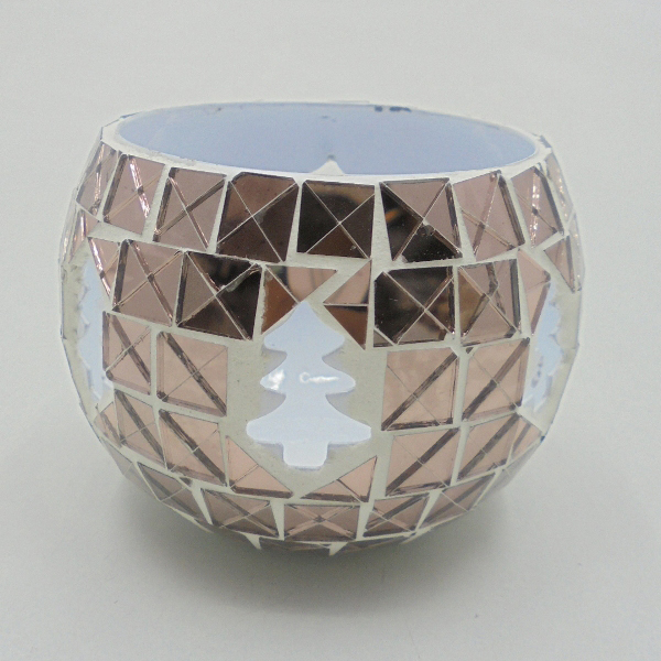 Decorative Round Candle Votive Holder
